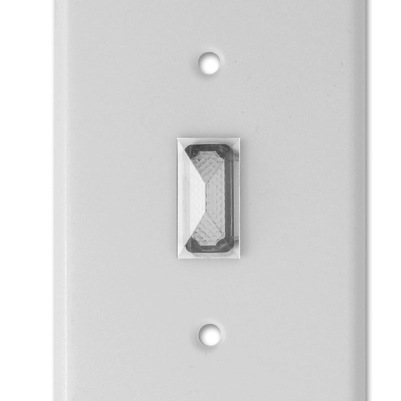 Clear Indicator Jewel For Toggle Switch Wallplate Cover