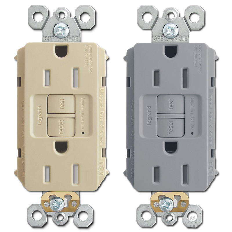 Gfci outlet plugs tamper resistant self test 15a kyle switch plates gfci outlet plugs tamper resistant self test 15a ps sciox Image collections