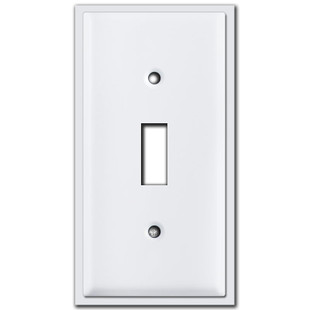 "2.5"" Narrow Toggle Light Switch Covers"