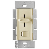 Ivory Slider Light Dimmer - On Off Button 600W
