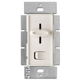 Light Almond Slider Dimmer - On Off Button 600W
