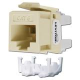 Cat6+ Ethernet Jack Quick Port Leviton - Ivory