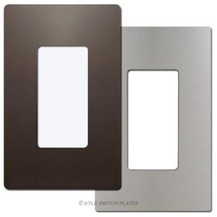 1 Decorator Metallic Screwless Wall Plate Cover - Legrand