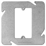 """Center Device Plaster Ring for 4-11/16"""" Square Electrical Box"""