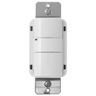 GE Low Voltage Passive Infrared Wall Switch Sensor - White