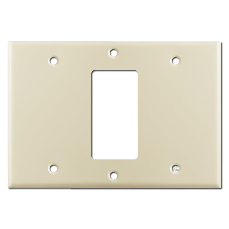 Blank Decor Blank Light Switchplate Cover Ivory Kyle Switch Plates