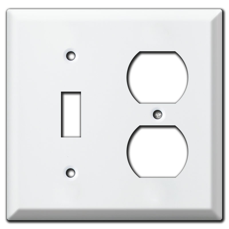 White Electrical Outlet Covers Magnificent Deep Vertical & Horizontal 3 Toggle Switch Plate Covers 2017
