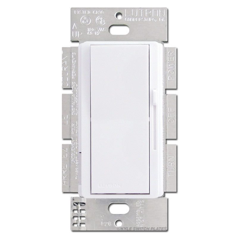 3-Way Lutron ELV Dimmer 300W White | Kyle Switch Plates