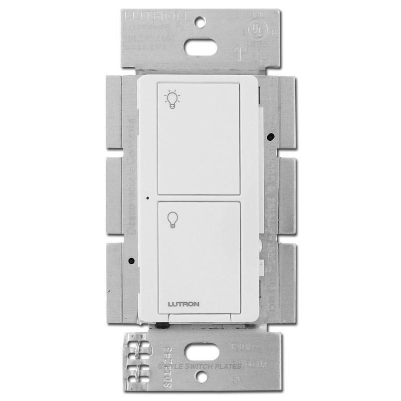 Caseta Multi-Location Neutral Wire Smart Switch Lutron White