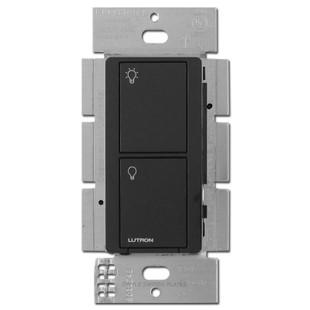 Caseta Multi-Location Electronic RF Neutral Switch Lutron Black
