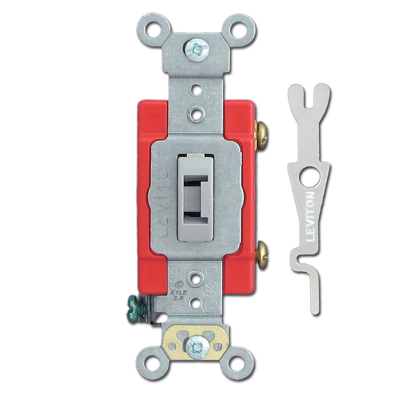 Replacement Key for Leviton Locking Switches