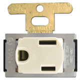 Ivory 15A Despard Outlet Receptacle