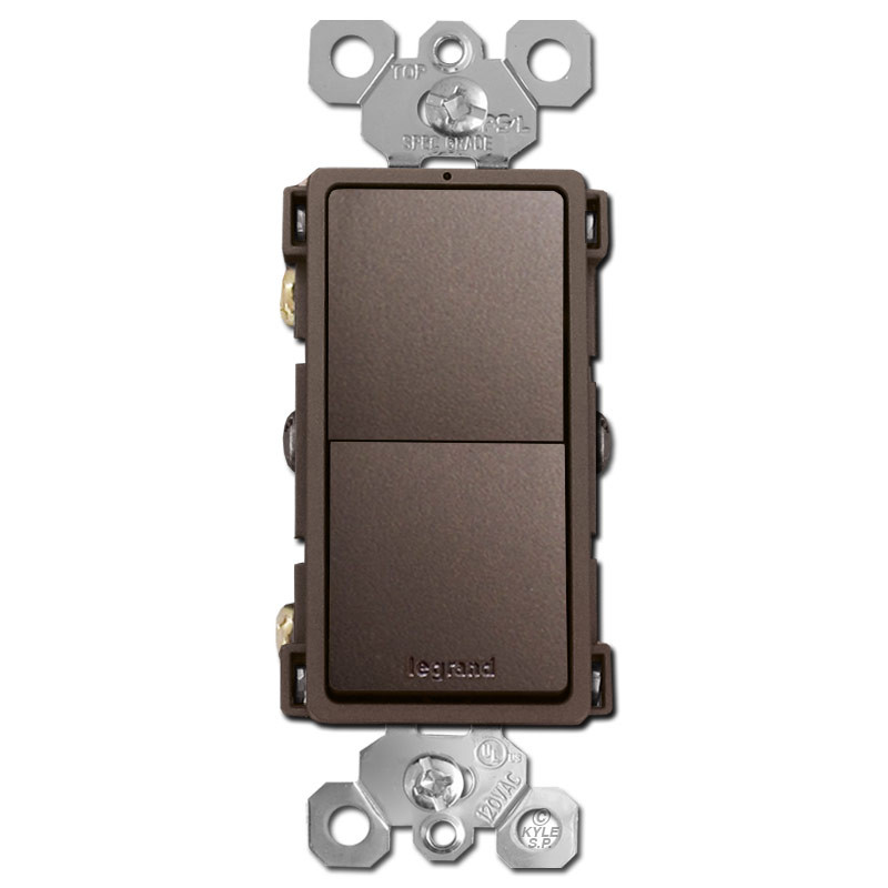 dark bronze stacked rocker switch single pole or 3 waydark bronze stacked rocker switch single pole or 3 way psl rcd33db__33715 1527107395 1280 1280 jpg?c\u003d2