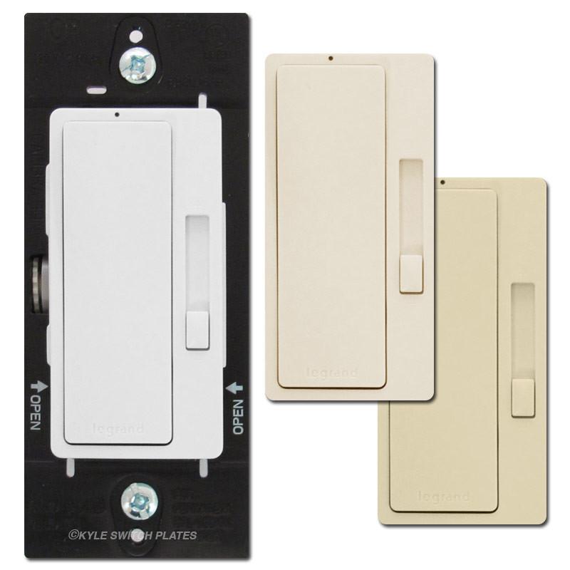 cfl led dimmer switches 120v white ivory light almond legrand