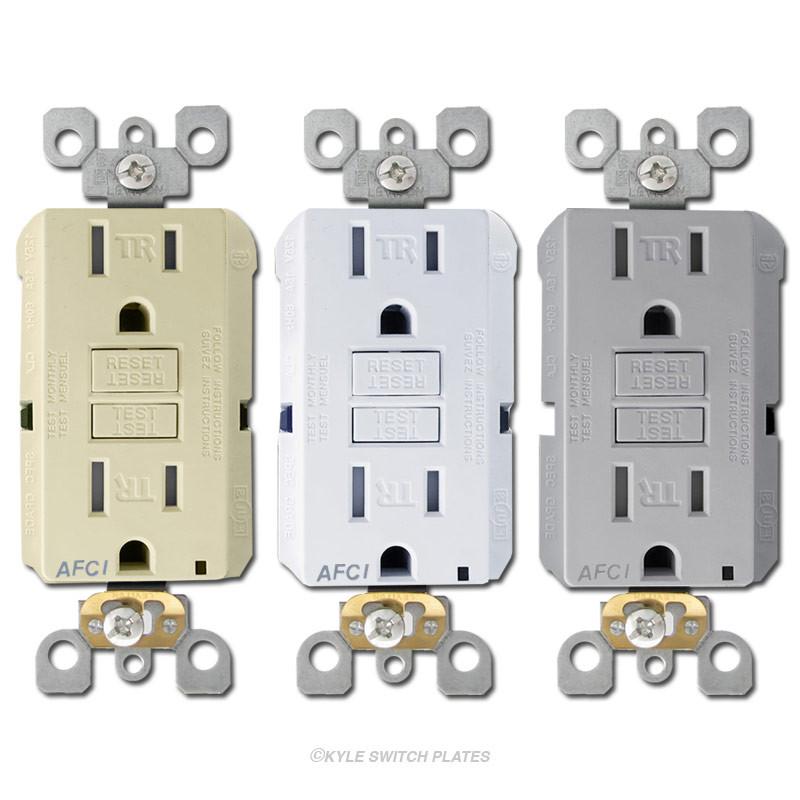 Arc Fault Circuit Interrupter (AFCI) Outlets