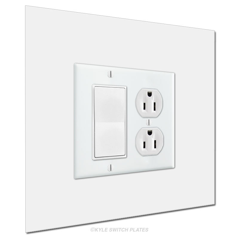 Wall Guard 8x8 Light Switch Cover Expander 2-Gang | Kyle Switch Plates