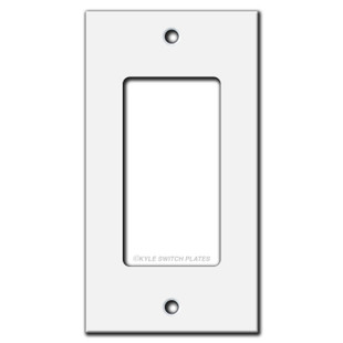 Short Flat Narrow Cover for GFCI / Rocker Switch