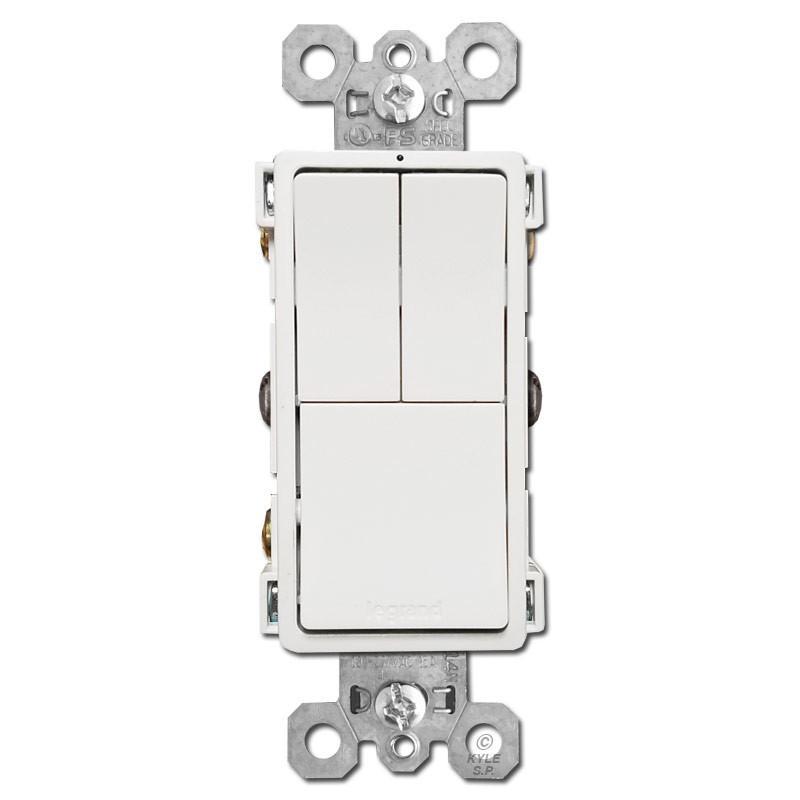 Stacked 3 Way Switch Wiring - Wiring Diagram