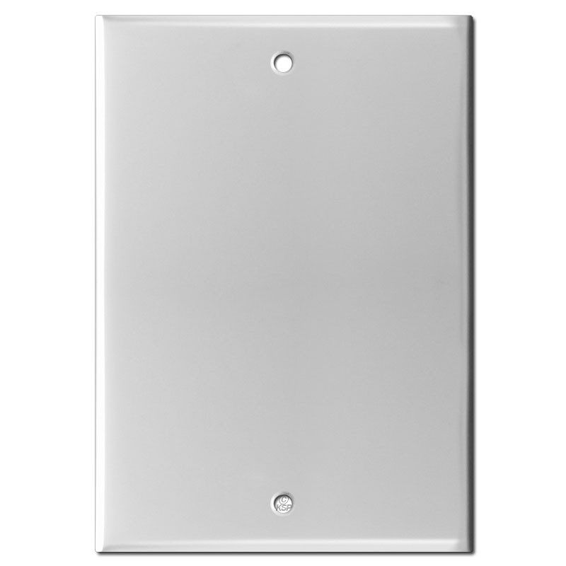 6 Blank Wall Plate Cover For Nutone Speaker 5 25