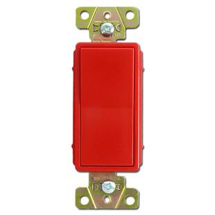 Red 3 Way 20a Decorator Rocker Switch Pass Amp Seymour 2623