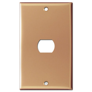 1 Despard Electrical Light Switch Cover - Polished Copper