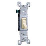 Ivory Leviton Toggle Switch CO/ALR for Aluminum Wiring