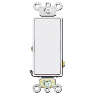 Decora Rocker Light Switch 20A Leviton - White