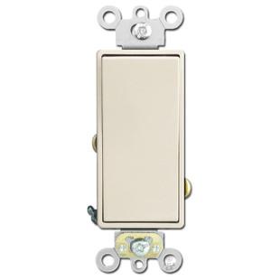 Decora Light Switch 20A Leviton - Light Almond