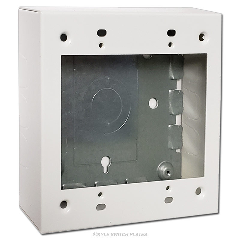 Switch  U0026 Outlet Deep Electrical Box Ring 2
