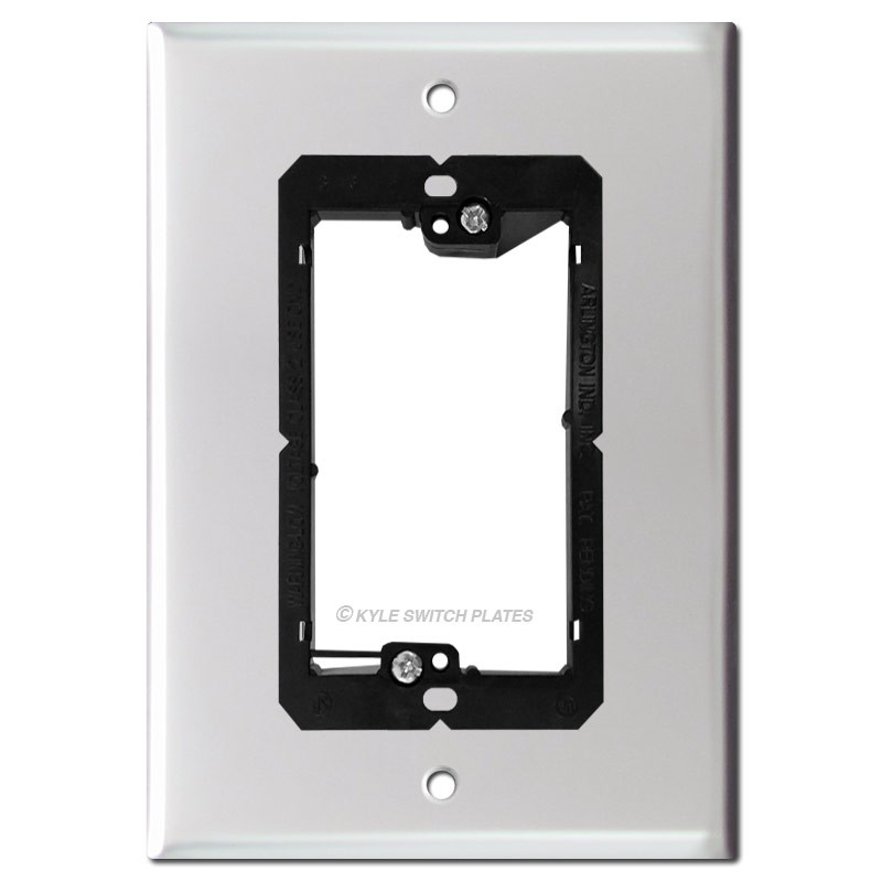 6  Smart Doorbell Cover for Nutone Speaker - 4.5  Wide Screws  sc 1 st  Kyle Switch Plates & Intercom Speaker u0026 Doorbell Wall Plates - Nutone TekTone Mu0026S