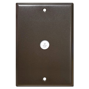 6 4 Nutone Wall Box Cover With Door Bell Hole 5 25 Screws