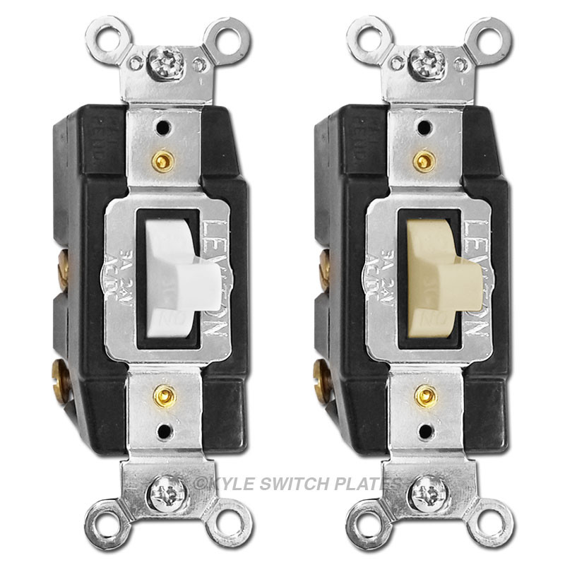 Low Voltage Momentary Toggle Switches V A Lev All on Bryant Low Voltage Switch Plate