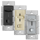 Lutron CFL LED Slide Dimmers, On Off Switch SCL-153P