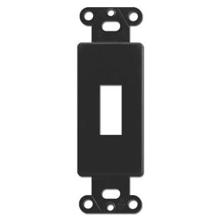 Black Toggle Switch Plate Insert Convert Decora Plates