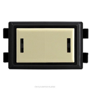 GE Low Voltage Key Locking Momentary Switch RS237K - Ivory