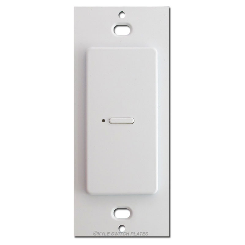 Touchplate Ultra Modern Low Voltage 1 Led Switch White