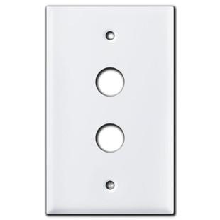 Sierra Push Button Light Switch Plates