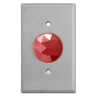Red Round Jewels for Light Swtich Pilot Lights