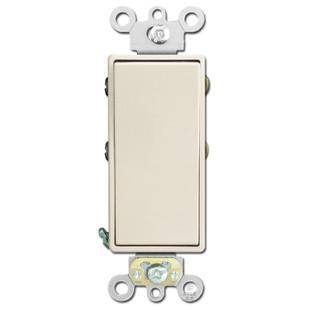 4-Way Decora Switch Leviton 20A AC Quiet - Light Almond
