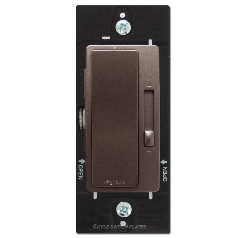 Dark Bronze Fan Speed Control Switch S P Or 3 Way Legrand