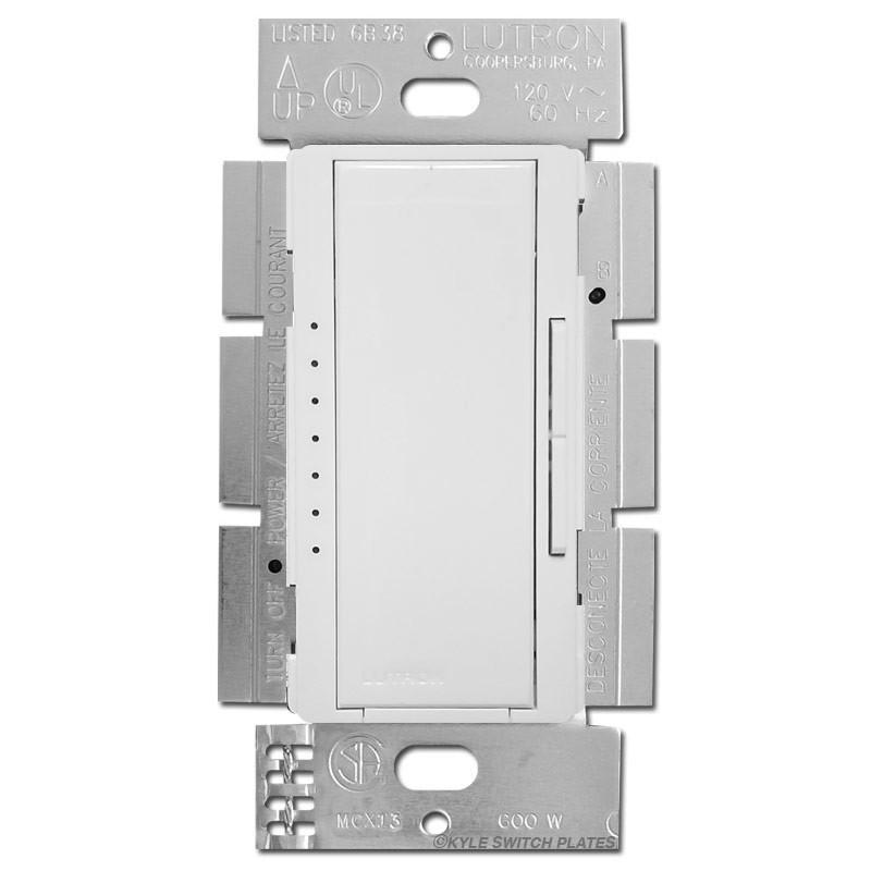Lutron Maestro Digital Multi Fan Control Switch 150w White