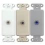 Leviton Cable Jacks for Decora Rocker Plates
