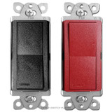 Satin 3-Way Rocker Switch - Lutron Claro