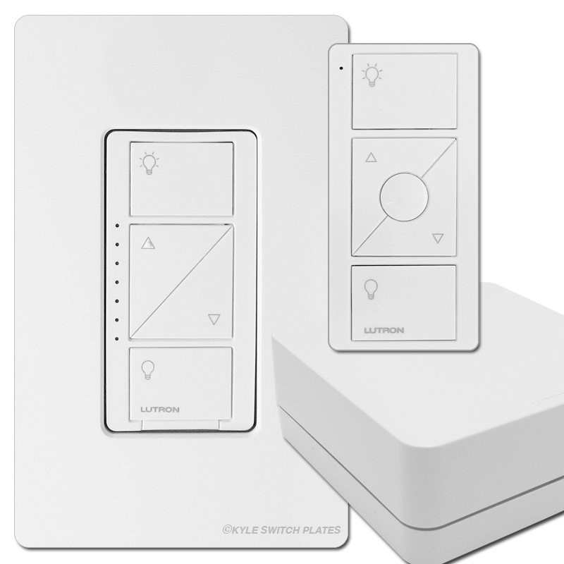 Lutron Wireless Switch >> Lutron Caseta Wireless Smart Lighting Dimmer Switch Starter Kit