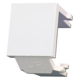 Leviton White Snap-In Blank Module for QuickPort Multimedia Frame