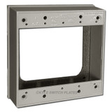 """Deep 2-Gang Outlet & Switch Electrical Box Ring 1"""""""