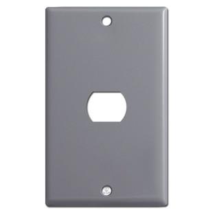 1 Despard Light Switch Wallplate - Gray