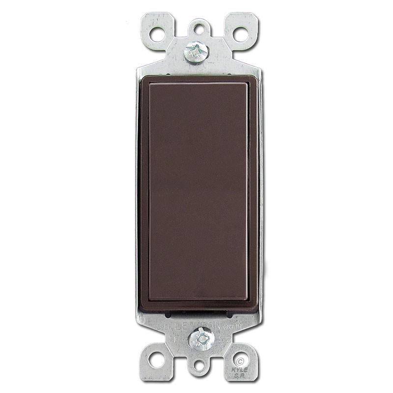 Brown 4 Way Decora Rocker Switch Kyle Switch Plates