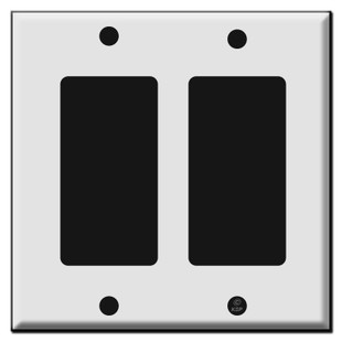 2 Rocker Switch Plates