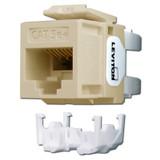 Ivory Leviton GigaMax 5e+ Ethernet Jack